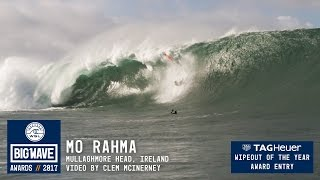 Download Mo Rahma at Mullaghmore - 2017 TAG Heuer Wipeout of the Year Entry - WSL Big Wave Awards Video