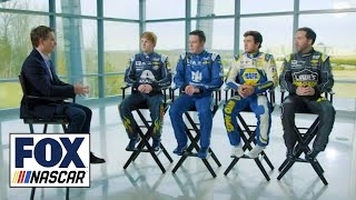 Download Jeff Gordon talks with all four Hendrick drivers about the new team dynamic | NASCAR RACEDAY Video