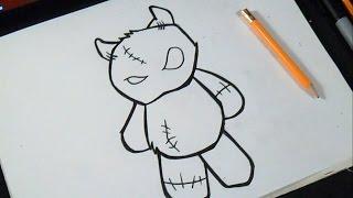 Download como desenhar Ursinho de pelúcia | Grafite Video