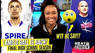 Download LaMelo Ball BACK In HIGH SCHOOL For Senior Year!! CRAZY Coach Said WHAT To His Players? Video