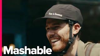 Download This Bike Helmet Looks Just Like A Baseball Cap Video