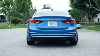 Download Hyundai Elantra Sport with Flowmaster Outlaw muffler Video