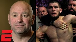 Download Dana White on Conor vs Khabib brawl, Floyd Mayweather, Brock Lesnar, Nate Diaz, GSP | MMA Interview Video