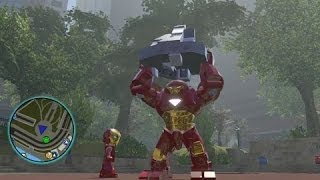 Download LEGO Marvel Super Heroes - All Big-Fig Characters + Free Roam Gameplay Video