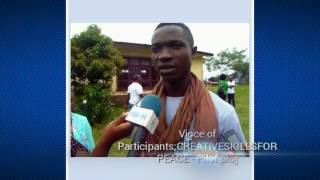 Download Creative Skills for Peace - Pilot Phase at Youth Correction Center, Cameroon Video