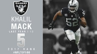 Download #5: Khalil Mack (LB, Raiders) | Top 100 Players of 2017 | NFL Video