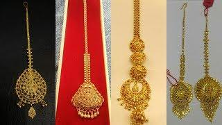 Download Light Weight Gold Maang Tikka Designs Video