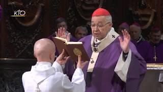 Download Messe d'action de grâce pour les 12 ans d'épiscopat du cardinal Vingt-Trois Video