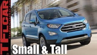 Download New Ford EcoSport Unveiled in CA: Ford's Smallest Crossover is Coming to America Video