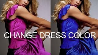 Download Photoshop : How to change Dress Color without changing Skin tone Video