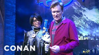 Download Conan Visits E3 To Check Out Playstation 4 & XBox One Video