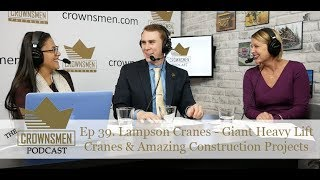 Download TCP 39. Lampson Cranes - Giant Heavy Lift Cranes & Amazing Construction Projects Video