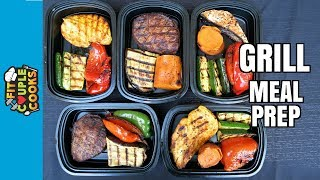 Download How to Meal Prep - Ep. 51 - GRILL MEAL PREP - SUMMER BBQ - HOW TO GRILL Video