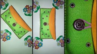 Download DIY phone bag / wallet from fabric - cara membuat dompet dari flanel Video