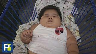 Download El insólito caso de bebé mexicano que con solo un año pesa más de 66 libras y no deja de engordar Video