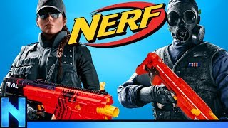 Download NERF Rainbow Six Siege - DEFEND THE HOUSE! Video