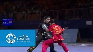 Download Wushu - Women's Duel Event - Weapon (Day 1) | 28th SEA Games Singapore 2015 Video