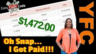 Download Easy Cash Code Payment Proof | Yvonne Anderson's Personal Results & Income Proof With The ECC System Video