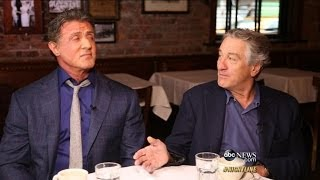 Download Robert De Niro, Sylvester Stallone on Making 'Grudge Match' Video
