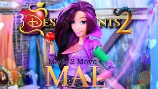 Download DIY - How To Make: Made to Move Disney Descendants 2 | Mal | Custom Doll Video