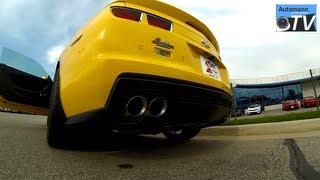Download 2013 Chevrolet Camaro ZL1 (580hp) - Start Up SOUND (1080p FULL HD) Video