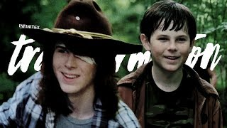 Download The Transformation of Carl Grimes Video