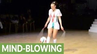 Download Cirque du Soleil jump rope artist will blow your mind Video