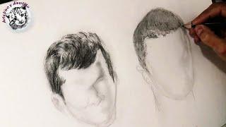 Download Como Dibujar el Pelo a lápiz: El cabello de los chicos o corto, paso a paso. Video