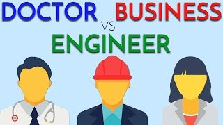 Download Doctor vs Engineer vs Business | Deciding on a Career Video