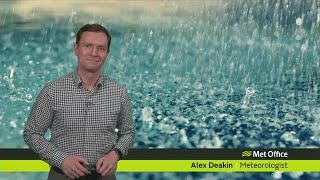 Download Wednesday afternoon forecast 22/11/17 Video