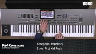 Download KORG Pa4X MUSIKANT Style Demos: POP & ROCK Styles Video