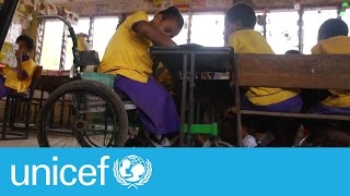 Download A disability doesn't disable, a story of hope from Papua New Guinea I UNICEF Video