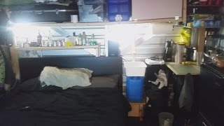 Download Living out of a storage locker for 2 months, in style! Video