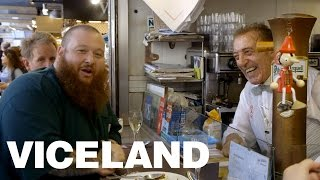 Download Action Bronson Eats at the Greatest Market in Barcelona (Extra Scene) Video