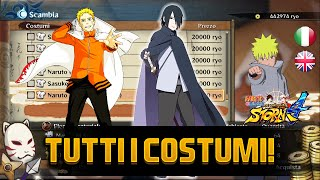 Download STORM 4 - Come ottenere Naruto Hokage, Sasuke Errante e TUTTI i costumi! How to get costumes ITA ENG Video