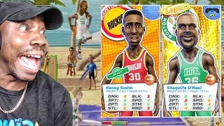 Download USING KENNY SMITH & SHAQ w/NEW SHOT METER ONLINE! NBA Playgrounds Gameplay Ep. 12 Video