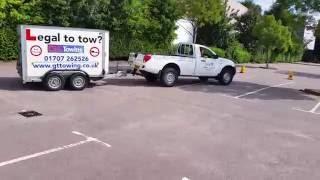 Download B+E Trailer Towing Test Reversing Manoeuvre 2017 Video
