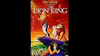 Download Opening to The Lion King UK VHS [1995] Video