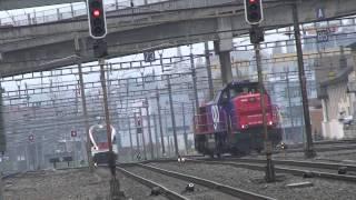 Download Trains Cff à Renens 14 (avec un super Klaxon !!!) Video