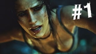 Download Tomb Raider Gameplay Walkthrough Part 1 - Intro (2013) Video
