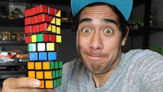 Download Amazing Rubik's Cube illusions - Zach King Video