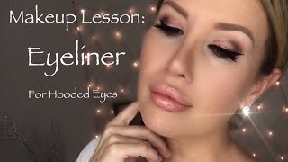 Download HOW TO DO EYELINER ON HOODED EYES: Easy Tutorial, Tips and Tricks| Risa Does Makeup Video