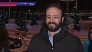 Download Крупнейший каток и рождественская ярмарка открылись на территории стадиона ″ Нижний Новгород″ Video
