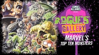 Download 10 Best Marvel Monsters - Rogues' Gallery Video
