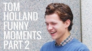 Download Tom Holland Funny Moments | Part 2 Video