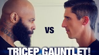 Download Triceps Workout - 200 Reps (CAVALIERE VS. CT FLETCHER!) Video