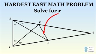 Download Can You Solve The Hardest Easy Geometry Problem? Video