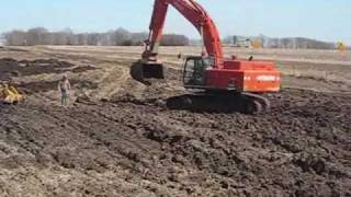 Download 2 bulldozers stuck Video