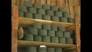 Download The process of Making Bio-briquette Video