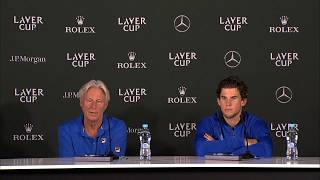 Download Borg and Thiem Press Conference (Match 2)   Laver Cup 2017 Video